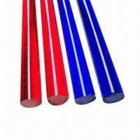 Buy cheap Acrylic Color Rod, Available in Various Dimensions product