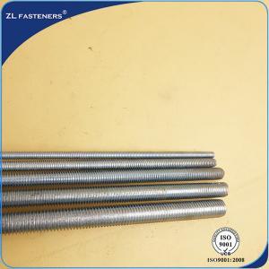 Buy cheap Galvanized Threaded Rod High Tensile M6 / M8 / M10 / M12 / M14 / M16 / M18 / M20 product