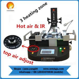 Cheap Price Bga Rework hot air station WDS-4860 Three Temperature Zones manual BGA Rework
