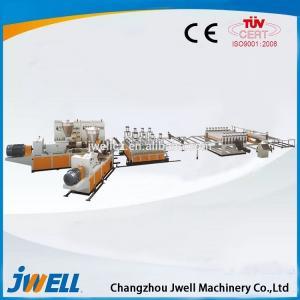 China PVC/PVC FOAM/WPC wood-plastic decorative board making machine on sale