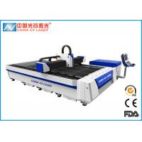 Buy cheap High Speed CNC Fiber Laser Cutting Machine for Metal Plate 3000 X 1500mm product