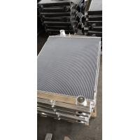 Buy cheap Customized Aluminum finned tube heat exchanger for water cooler radiator product