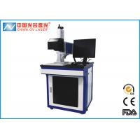 Buy cheap 20W Table Fiber Co2 Laser Marking Machine for Bottle Cap QR Code product