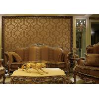 Buy cheap European Style Wet Embossing peel and stick wall covering 0.685*8.32M Different from wholesalers