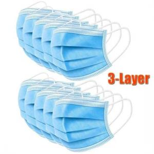 Buy cheap Good Skin Tolerance  3 Ply Earloop Face Mask product