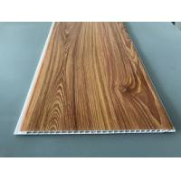 Buy cheap Waterproof Wooden Color Decorative PVC Panels Easy Cleaning And Maintenance product