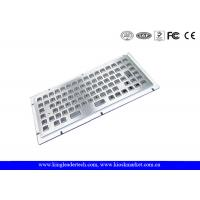 Buy quality Stainless Steel Liquid-Proof Industrial Mini Kiosk Keyboard With 86 Keys at wholesale prices
