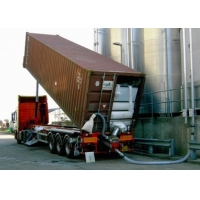 Buy cheap ISO9001 SS316 42T/H 40GP Container Unloading System product
