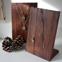 Buy cheap Wooden Retail Mdf Jewellery Necklace Display StandsHandmade Craft product
