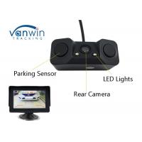 Buy cheap Universal Vehicle Hidden Camera , Night Vision Reverse Camera With 2 Parking Radar Sensor product