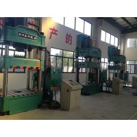 Buy cheap 400T Vertical Four Column Hydraulic Press For Drawing Button Operation product