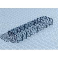 Buy cheap Eco - Friendly Steel Factory Metal Building Depot Wide Span With Sandwich Panel product