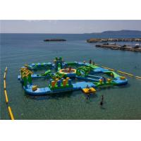 Buy cheap 0.9mm PVC Tarpaulin Funny Water Games / Adult Inflatable Floating water Park 3 Years Warranty from wholesalers
