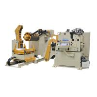 Buy cheap Nc Servo Automatic Feeding Machine Sheet Metal Decoiler Straightener Feeder For Stamping product