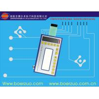 Buy cheap Metal Dome LED embossing tactile Membrane Switch Keypad With Connector product