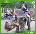KAWAH Amusement Park Walking Animatronic Dinosaur Rides for kids