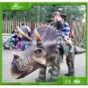 Buy cheap KAWAH Amusement Park Walking Animatronic Dinosaur Rides for kids from wholesalers