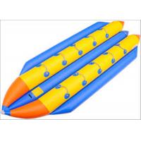 Buy cheap 10 Seats Inflatable Toy Boat Double Lane Game Water Playground For Skiing product