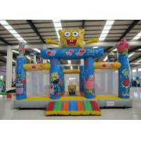 Buy cheap Amusement Park Kids Inflatable Bounce House Digital Printing Fireproof  Material product