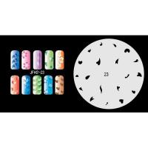Buy cheap Airbrush nail stencil  2 product