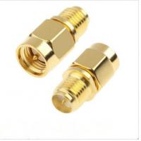 Buy cheap Straight/ Right Angle Plug Sma Coaxial Cable Connectors Excellent Performances product