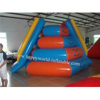 Buy cheap floating inflatable water slide , commercial water slide , used water park slide product
