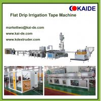 6mil/8mil 16mm drip irrigation pipe production line KAIDE factory