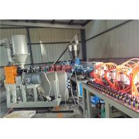 Sound Insulation PVC Hollow Roofing Tile Making Machine 1000mm With Extrusion Mould