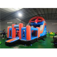 Buy cheap Combo Bounce House Play Area , Water Blow Up Playground Amazing CE Certificated product