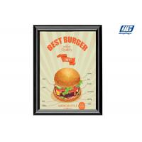 China A2 Super Slim Extruded 4 Sided Snap Frame Sign Holders No Light on sale