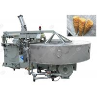 Buy cheap Stainless Steel Ice Cream Cone Making Machine 380V Voltage 1800pcs / H Capacity product