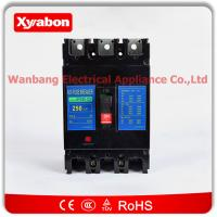 Buy cheap nf250 cs 3 pole ac 600v 250 amp mccb circuit breaker no fuse breaker product