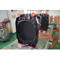 China Aluminum Vacuum Brazed combined oil cooler radiator for construction machinery oil cooling solutions on sale