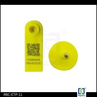 Buy cheap Goat RFID Animal Ear Tags , Two Pieces Livestock Tracking Tag ETP11 product