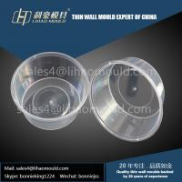 China 450ml high precision disposable thin walled container mould solution supplier on sale