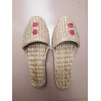 Buy cheap 100% hand woven grass shoes , rush shoes, slipper product