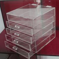Buy cheap Hot clear 6 drawer  perspex / acrylic makeup organizer for wholesale product
