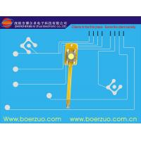 Buy cheap Adhesive PET LED Membrane Switch Keyboard With Embossed Metal Dome Push Button product