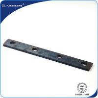 Buy cheap Fastener Carbon Steel Railway Track Fish Plate For Railroad Construction product