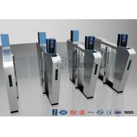 Buy cheap Waist Height Turnstile Security Systems , Face Recognition Speed Fastlane Turnstile product