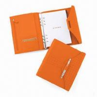 Buy cheap Notepad, Includes Polished Chrome Cross Accessory Pen, OEM and ODM Orders are Welcome product