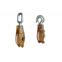 Buy cheap Aluminum Alloy Plated Nylon Sheave Hoisting Tackle product