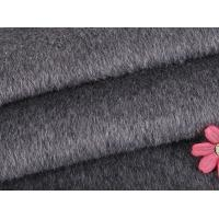 Buy cheap Polyester Twill Fabric Organic Wool Fabric Long / Short Hair Customized Winter Coat product