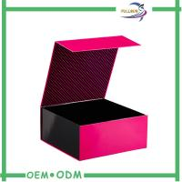 Buy cheap Cardboard / Art Paper Magnetic Closure Gift Box , Foldable Magnetic Paper Box product