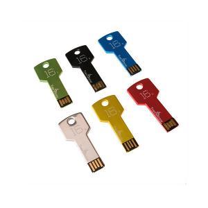 Wholesale Factory Price Cheap custom logo unique key shape USB flash drive