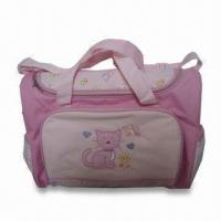 Buy cheap Diaper Bag, Made of Polyester, Measuring 16 x 6.5 x 12.25 Inches product