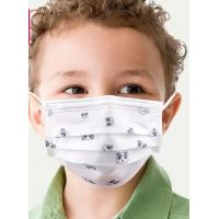 Buy cheap Children'S 3 Ply Disposable Face Mask 50pcs Collapsible CE Certificate product