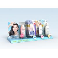Buy cheap Advertisement Acrylic Counter Stands Lightweight For Skin Care product