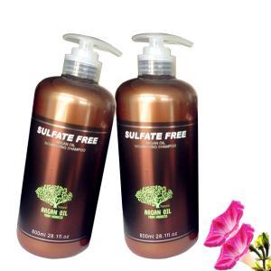 Buy cheap SLS Free Argan Oil Hair Treatment Hydrating Shampoo For Dry & Damaged Hair product