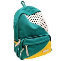 Buy cheap ECO Friendly Green Pretty High School Backpacks Canvas Back Pack Personalized product